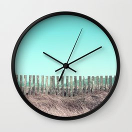 Candy fences Wall Clock
