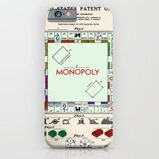 Monopoly Patent Slim Case iPhone 6s
