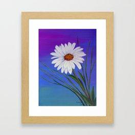 White daisy -2 Framed Art Print