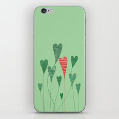 Growing Hearts iPhone & iPod Skin