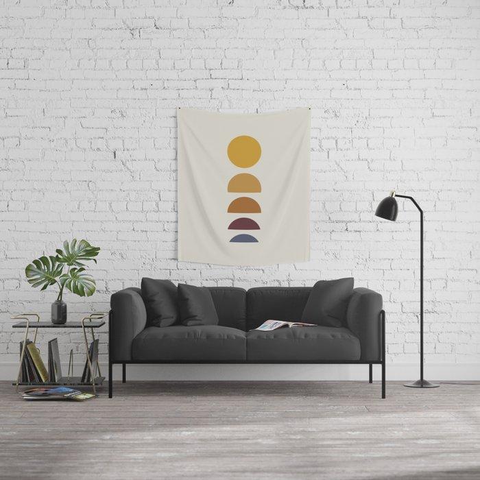 Minimal Sunrise / Sunset Wall Tapestry