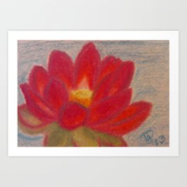 Out of the Muck Comes Beauty Art Print