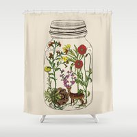 huebucket Shower Curtains featuring The Way You Remember Me by Huebucket