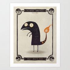 #004 Charmander Art Print