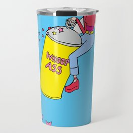 Fairy with a can of whoop ass Travel Mug