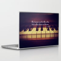 mozart Laptop & iPad Skins featuring Mozart Music by KimberosePhotography