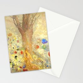 """Odilon Redon """"Buddha in His Youth"""" Stationery Cards"""