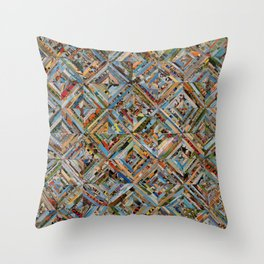 Texas Kaleidoscope Throw Pillow