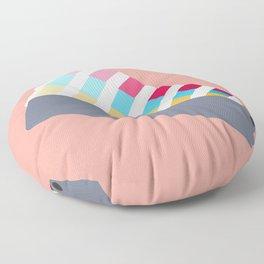 #28 Pantone Swatches Floor Pillow