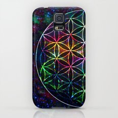 Flower of Life in the Universe - Universe in the Flower of Life Slim Case Galaxy S5
