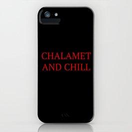 Chalamet iPhone Case