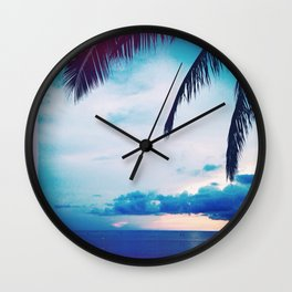 Hawaii is Home Wall Clock
