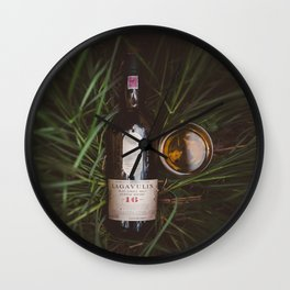 Lagavulin 16 Countryside Wall Clock
