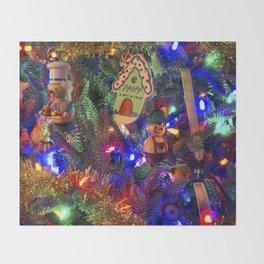 Christmas Tree 2018 Throw Blanket