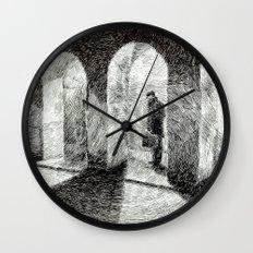 Fingerprint - Arcades Wall Clock