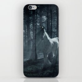 Unicorn in the Forest iPhone Skin