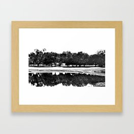 Natural Mirrors Framed Art Print