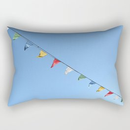 Colorful and minimal party Rectangular Pillow