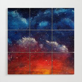 Explosions In The Sky Wood Wall Art