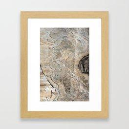 Nature's Stone Pattern II (Norway) Framed Art Print