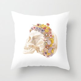 Patras Girl Throw Pillow