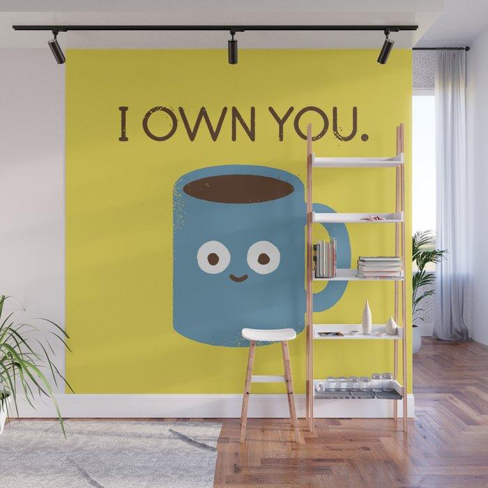Coffee Talk Wall Mural