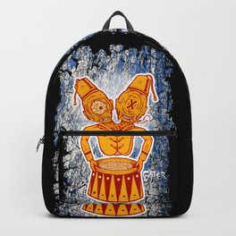 Conjoined Twins Circus Freaks Backpack