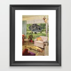 the event Framed Art Print