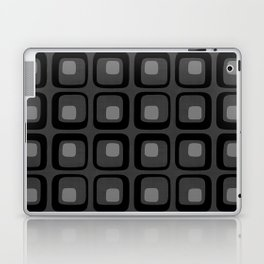 60s Grayscale Mod Laptop & iPad Skin