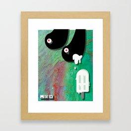 LOVE / WAR 2 Framed Art Print