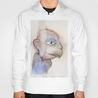 the dude Hoodies featuring Dude by Zorko