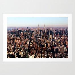 New York City 82 Art Print