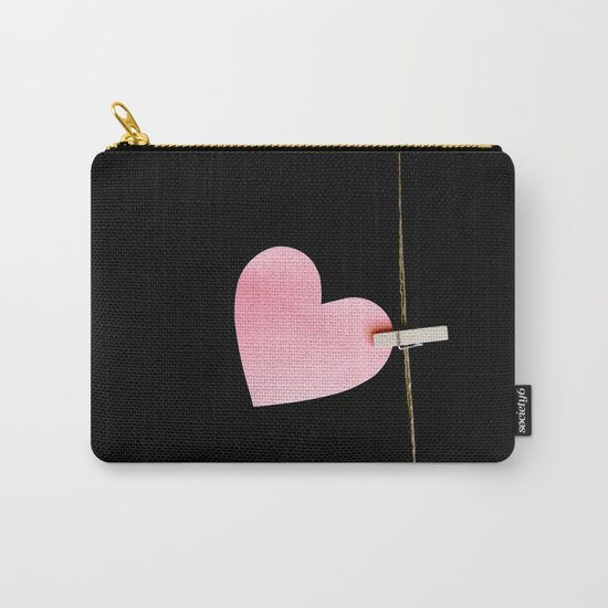 Heart of paper Carry-All Pouch