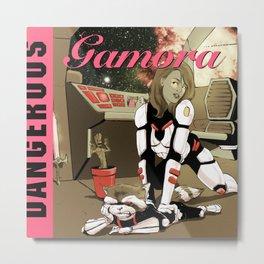 Dangerous Gamora Metal Print
