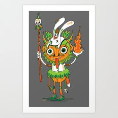 The Hoodoo Man Art Print