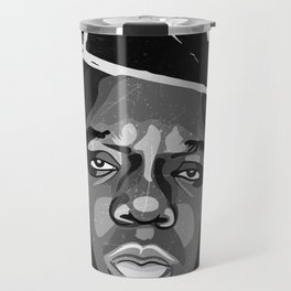 Biggie Basquiat BIG Notorious  Travel Mug