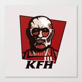 Kentucky Fried Human Canvas Print