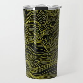 Gold Lined Travel Mug