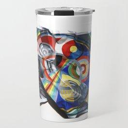A Delaunay crumpled. Travel Mug