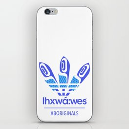 Aboriginal- Blue Eyed Grass iPhone Skin