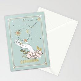 Capricorn Zodiac Series Stationery Cards