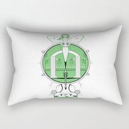 A Legend of Leafs Rectangular Pillow