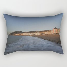 Aberystwyth Shore Rectangular Pillow