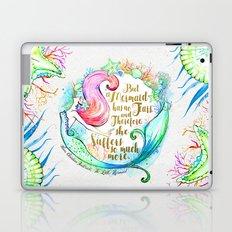 But A Mermaid Has No Tears Laptop & iPad Skin