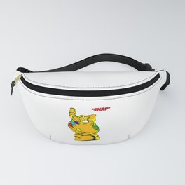 Thanos Snap Fanny Pack