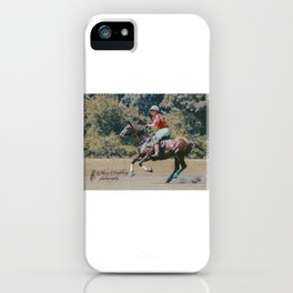 Bay Cantering Polo Pony #2 iPhone Case