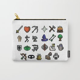 Old School Runescape Skills Carry-All Pouch