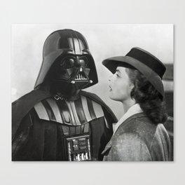 Darth Vader in Casablanca Canvas Print