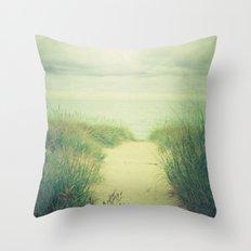 Finding Calm Throw Pillow