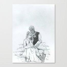 Aelin and Rowan Canvas Print